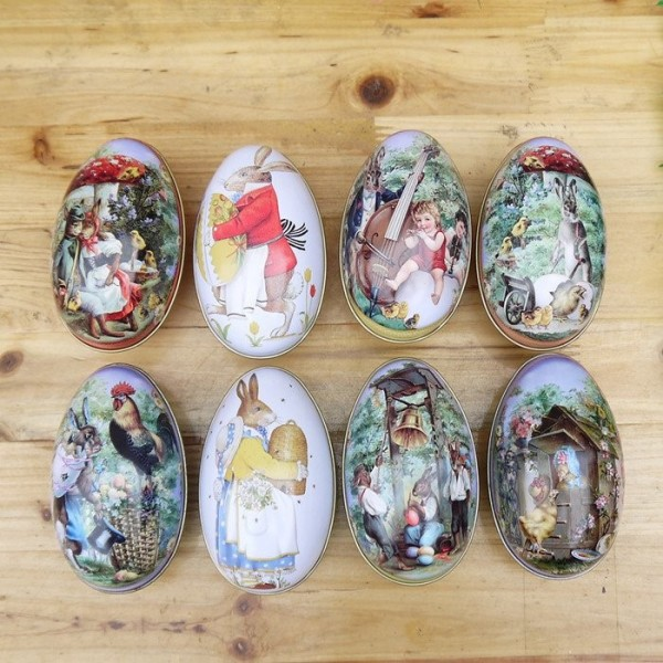Easter egg fairy tale creative gifts iron iron case christmas gift easter egg fairy tale creative gifts iron iron case christmas gift box negle Image collections