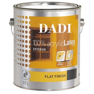 Exterior Acrylic Latex Paint Tin Cans