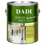 Exterior Semi-gloss Paint Tin Cans