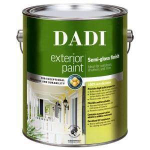 Exterior Semi-gloss Paint Tin Cans