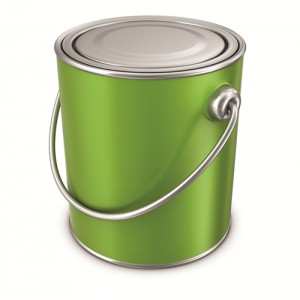 Exterior Wall Paint Tin Cans