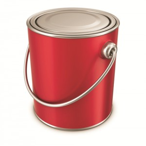 Interior Car Paint Tin Cans
