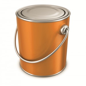 Interior Bathroom Paint Tin Cans