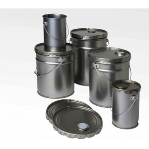 METAL STEEL TIN PAILS