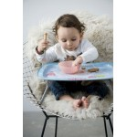 2014 New Product Oblong Metal Baby Serving Tray