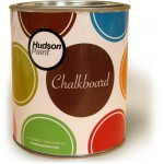 METAL COLORED CHALKBOARD PAINT CANS