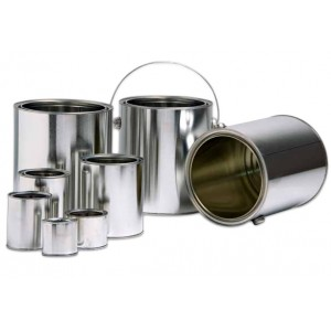 METAL PAINT TIN CANS